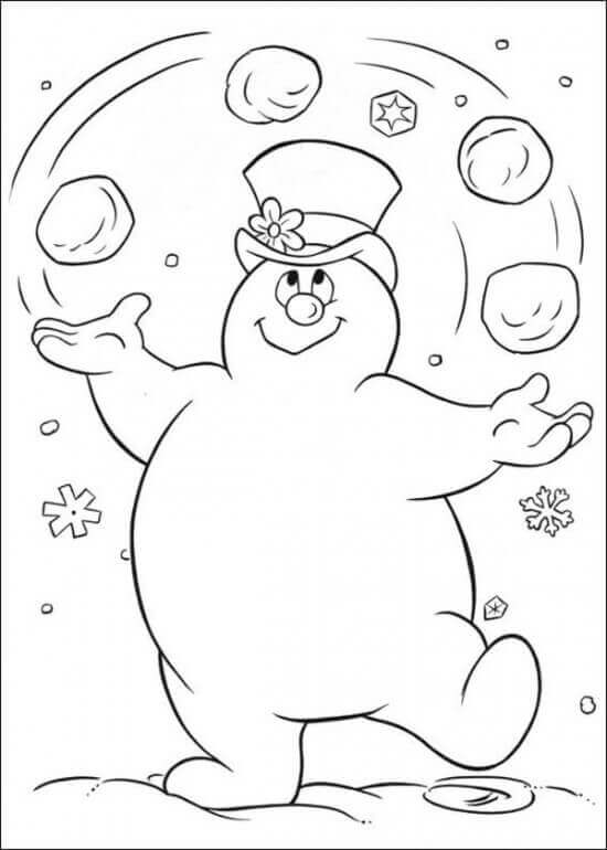 frosty the snowman printable coloring pages free printable frosty the snowman coloring pages best printable frosty the pages coloring snowman