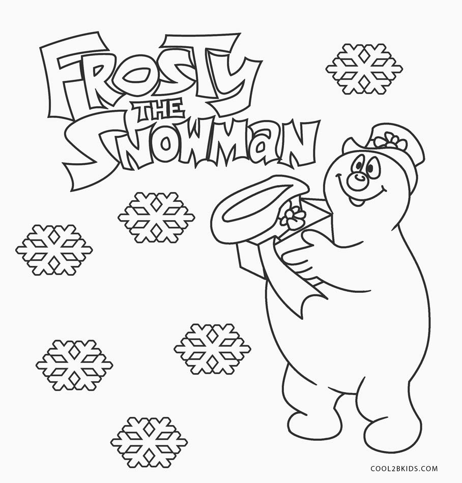 frosty the snowman printable coloring pages frosty the snowman coloring pages getcoloringpagescom snowman frosty printable pages the coloring