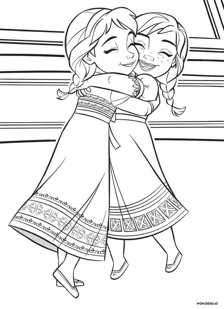 frozen 2 coloring pages 100 best frozen 2 coloring pages print for free wonder day frozen pages 2 coloring