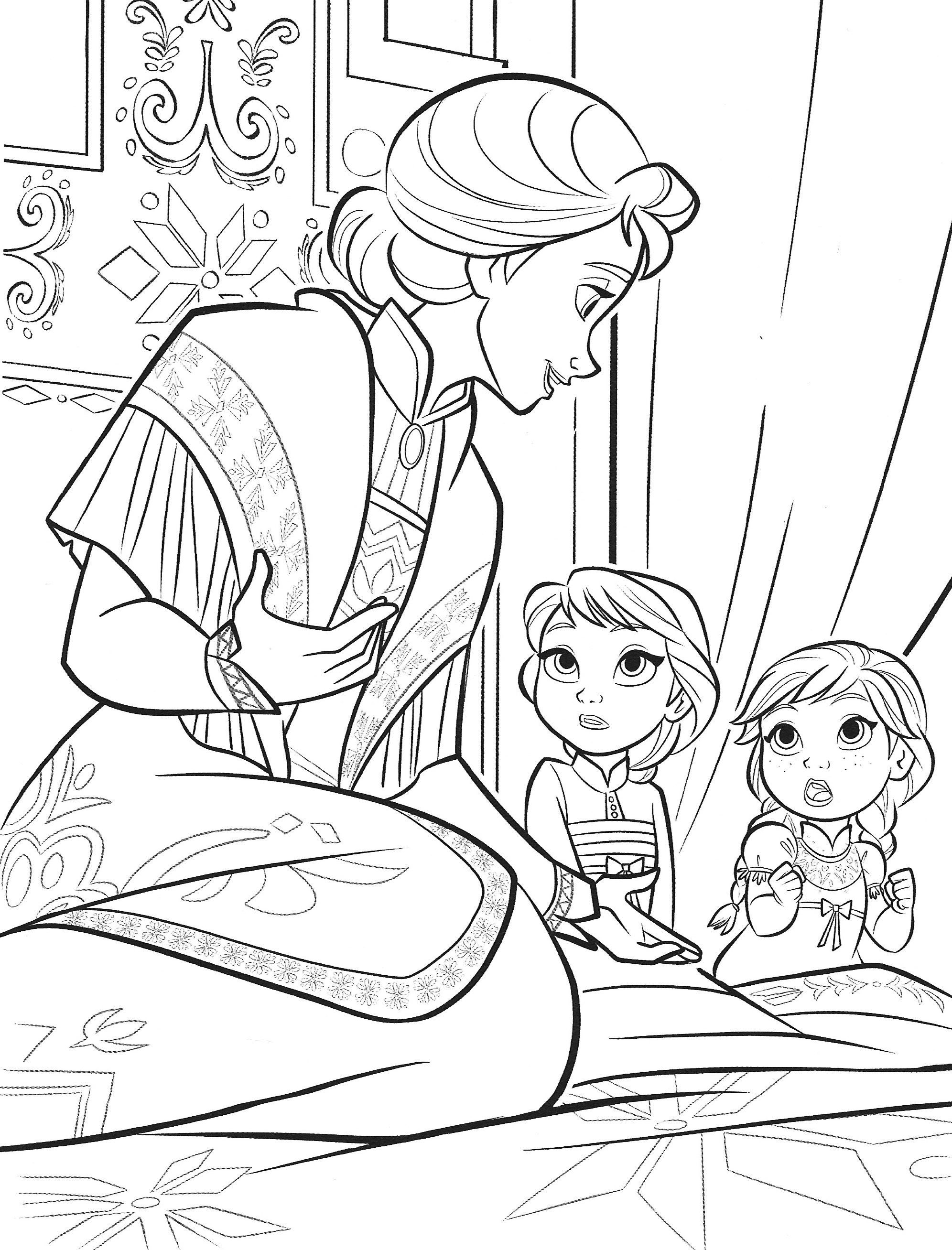 frozen 2 coloring pages anna frozen coloring pages coloring home coloring 2 pages frozen