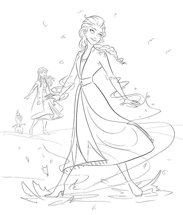 frozen 2 coloring pages frozen 2 coloring pages coloring home frozen 2 pages coloring