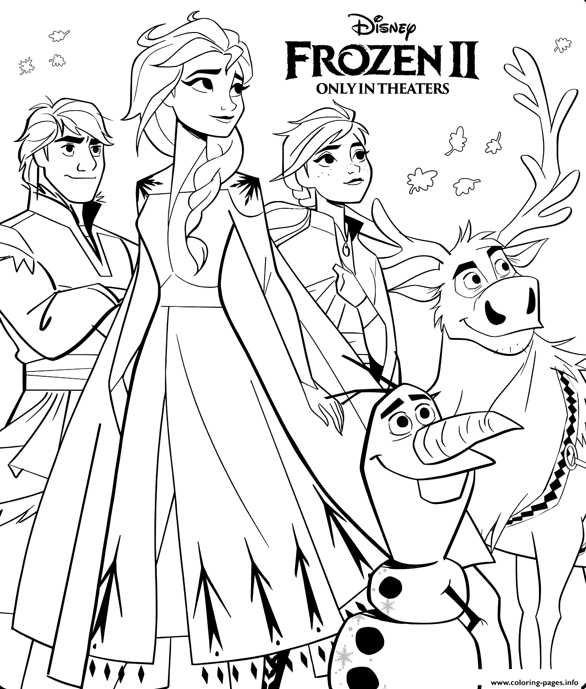 frozen 2 coloring pages frozen 2 printable coloring pages for kids coloring frozen 2 pages