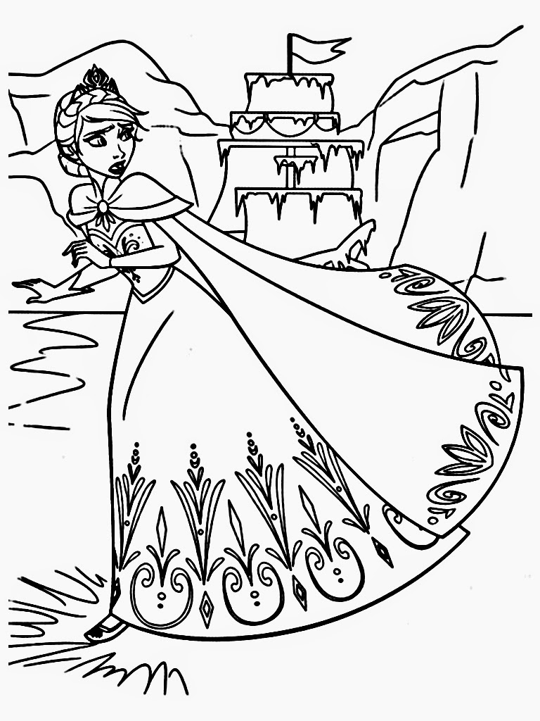 frozen colouring in sheets elsa coloring pages free download on clipartmag frozen sheets in colouring