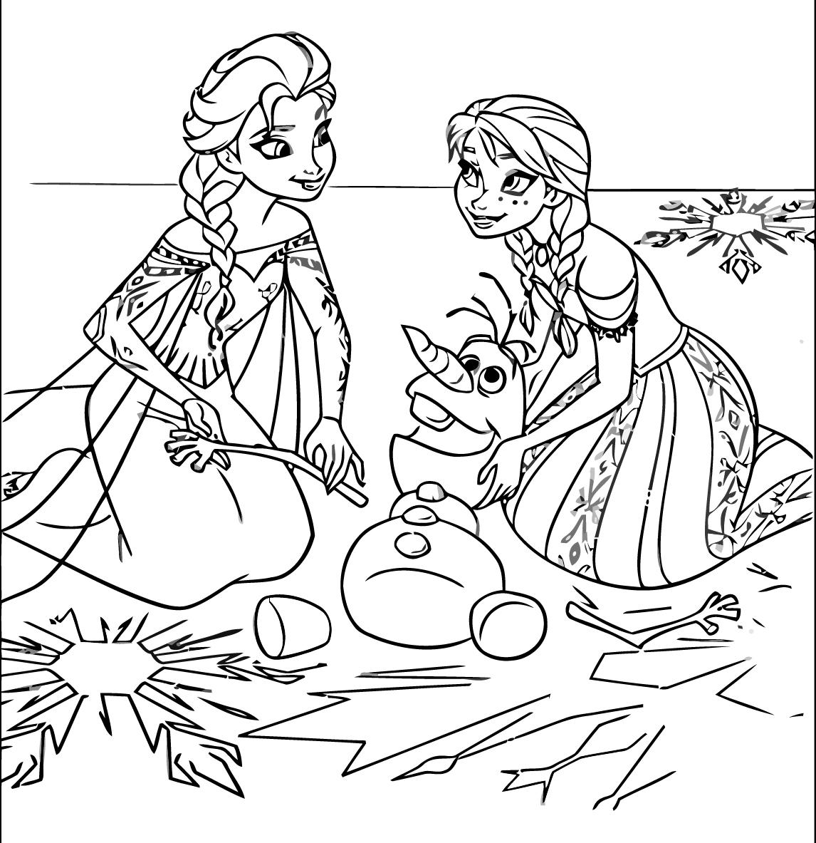 frozen colouring in sheets frozen coloring pages 4 disneyclipscom frozen in colouring sheets