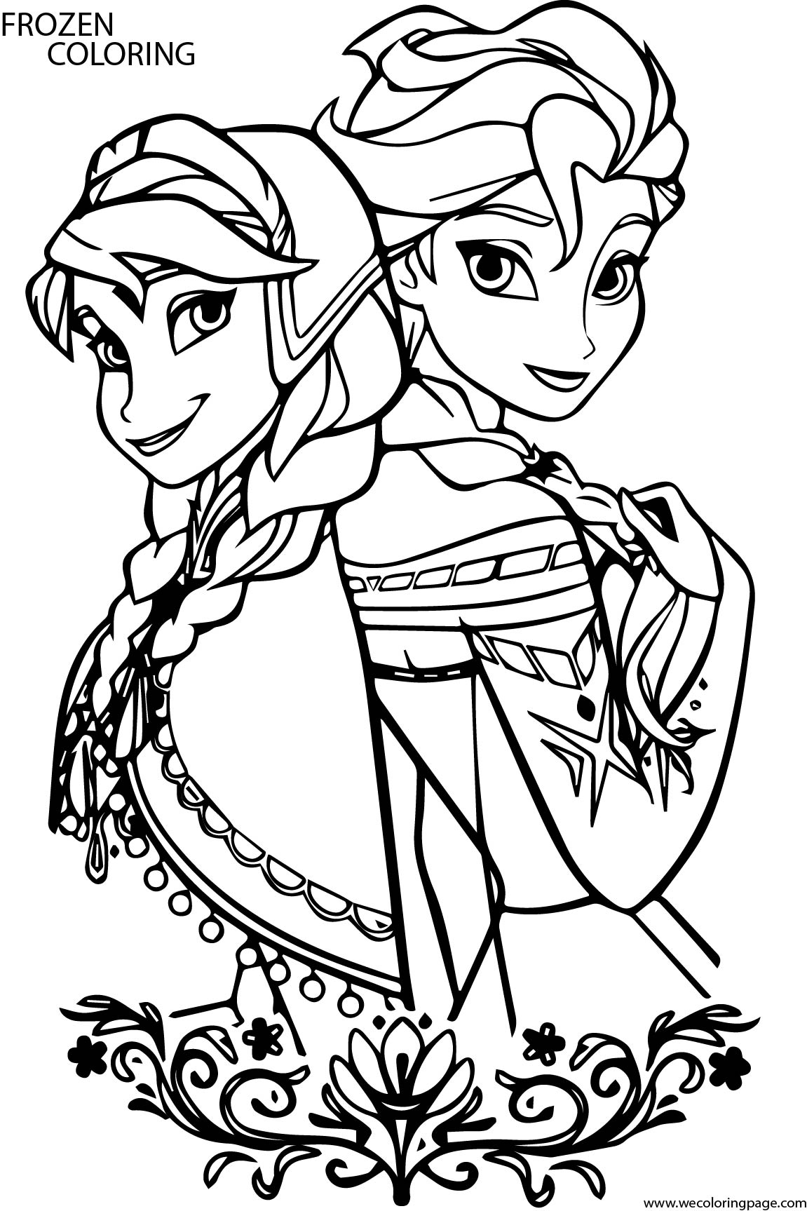 frozen colouring pages new frozen 2 coloring pages with elsa youloveitcom pages colouring frozen