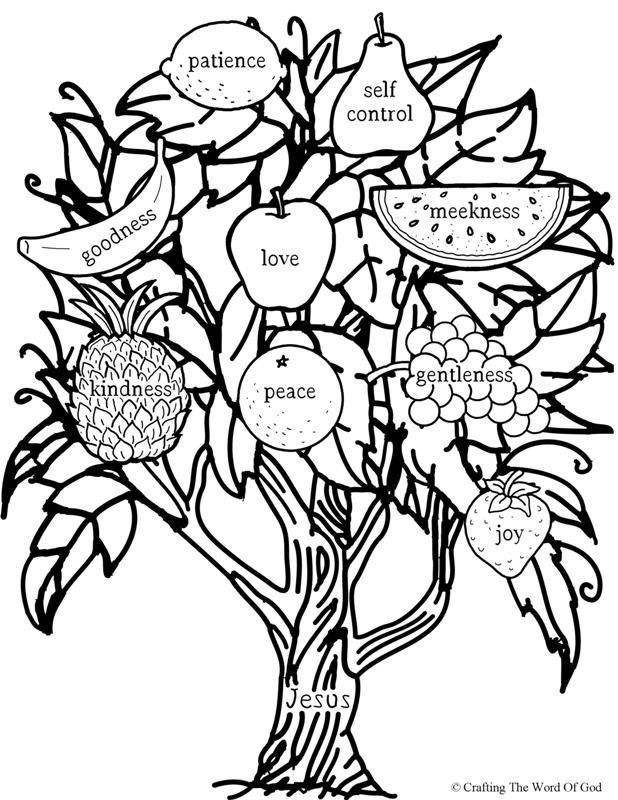 fruit tree coloring page banana coloring pages best coloring pages for kids coloring page fruit tree