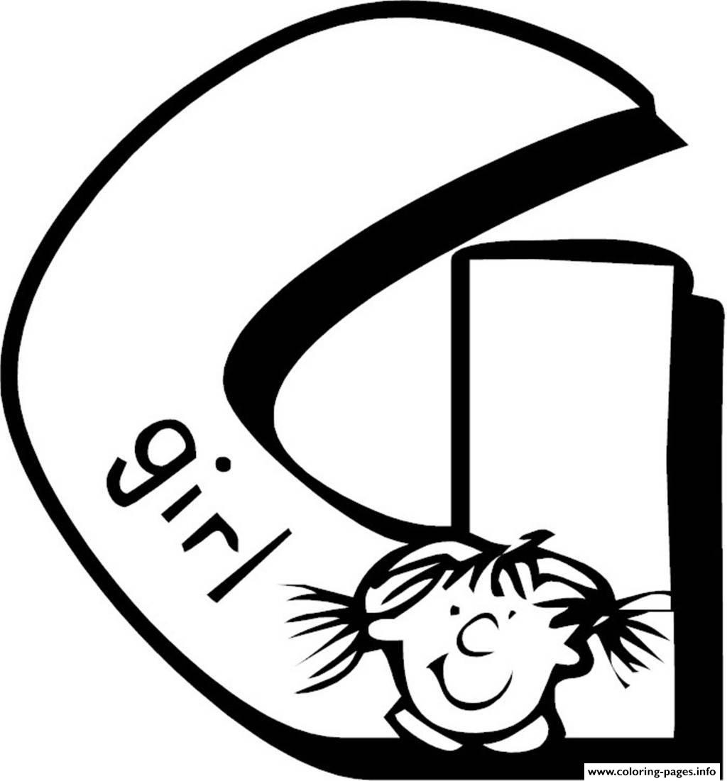 g is for girl coloring page 12 best images of letter g worksheets for pre k is coloring g for page girl