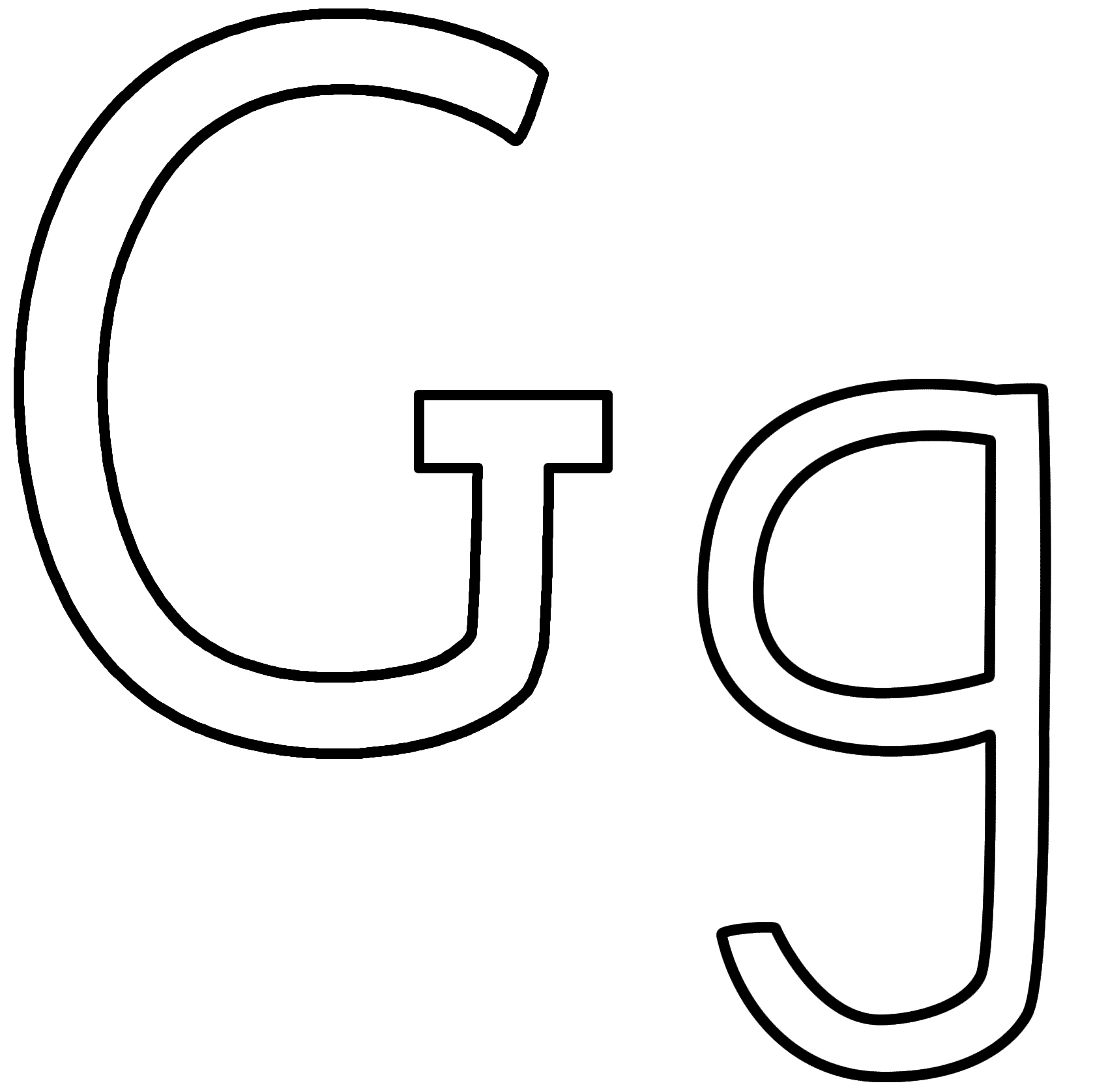 g is for girl coloring page g dr odd page girl is coloring g for