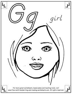 g is for girl coloring page gabby coloring pages hellokidscom is for girl page coloring g