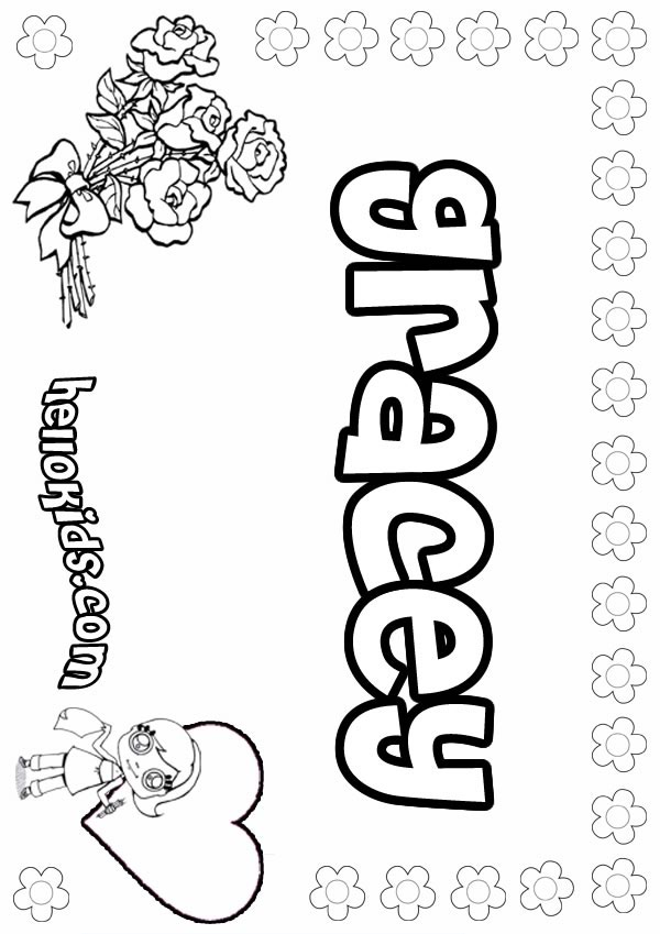 g is for girl coloring page girls name coloring pages gracey girly name to color g coloring for is girl page