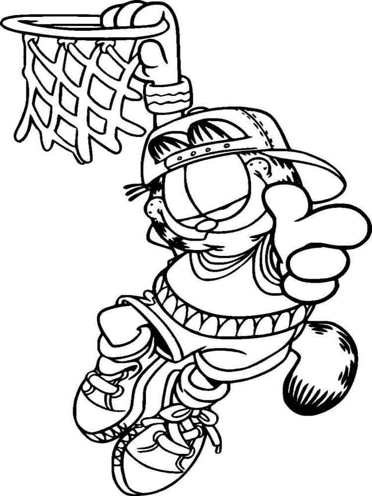 garfield coloring pictures garfield coloring pages to download and print for free pictures coloring garfield