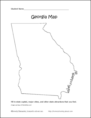 georgia map coloring page georgia map silhouette free vector silhouettes map page coloring georgia
