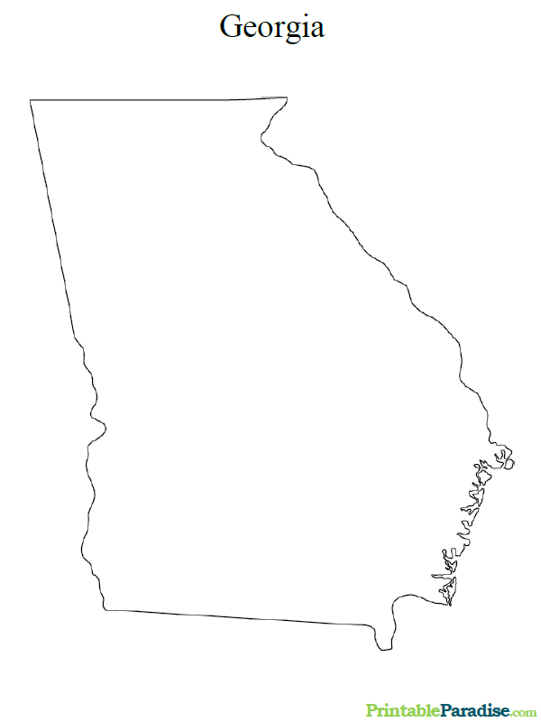 georgia map coloring page georgia maps facts world atlas map georgia page coloring