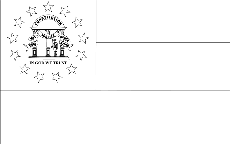 georgia map coloring page georgia state flag coloring page color luna georgia page map coloring