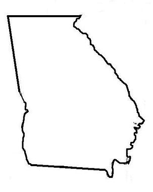 georgia map coloring page georgia state flower coloring page cherokee rose coloring page georgia map