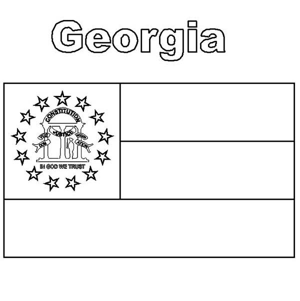 georgia map coloring page georgia state seal coloring page free printable coloring map coloring page georgia