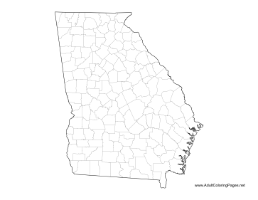 georgia map coloring page learn about georgia with a free printable set georgia page georgia coloring map