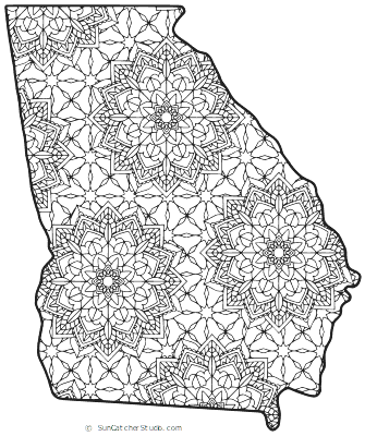 georgia map coloring page pin by kim giancaterino on usa for kids pinterest coloring georgia page map