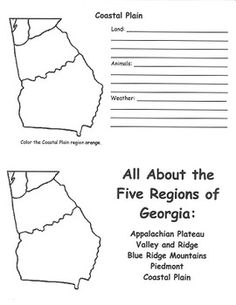 georgia map coloring page state flag of georgia coloring page free printable georgia page map coloring