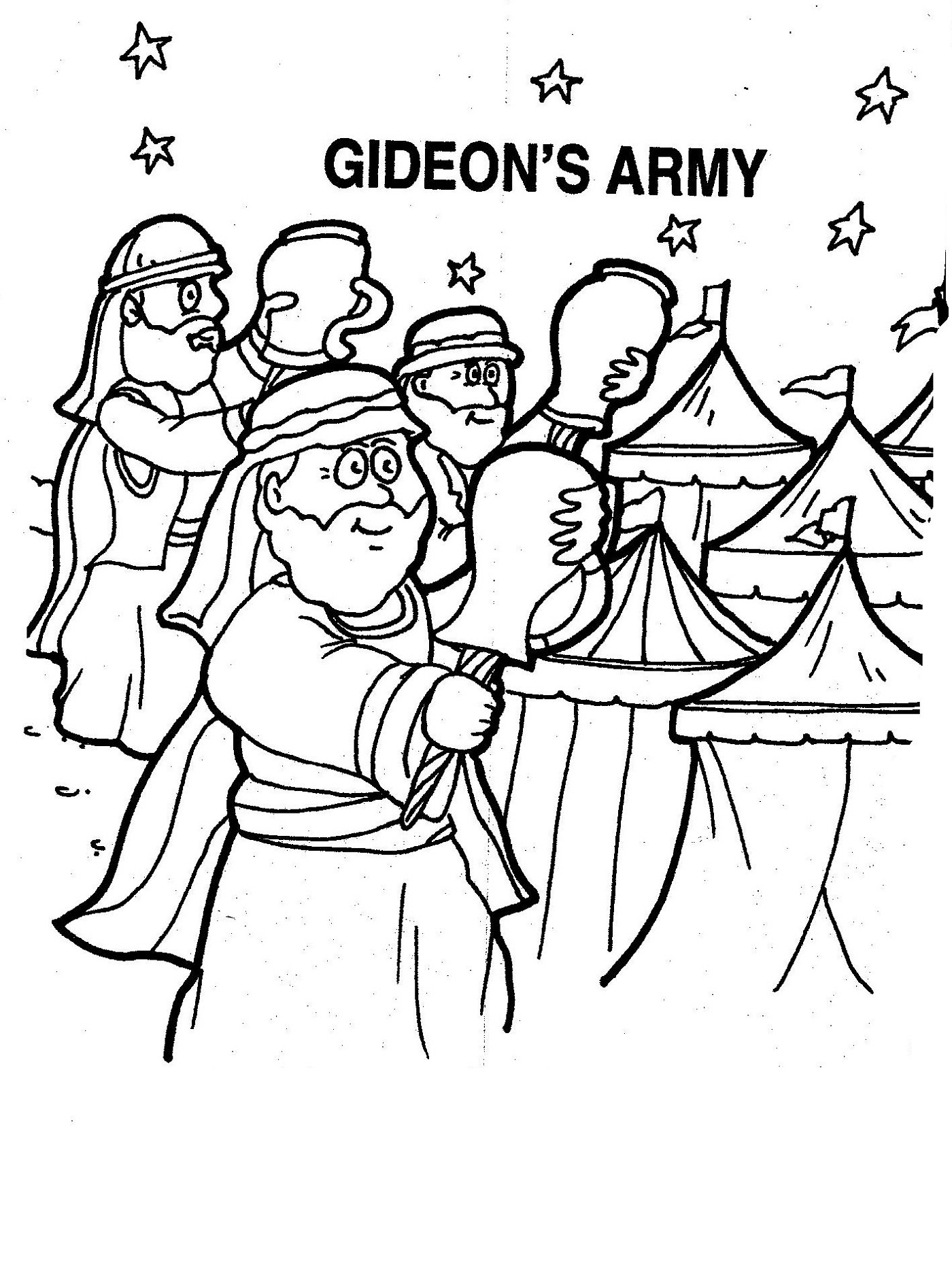 gideon coloring pages download or print this amazing coloring page chooses gideon pages coloring