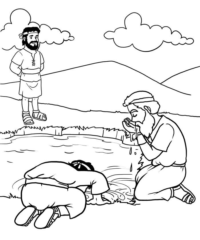 gideon coloring pages fine coloring page gideon that you must know youre in coloring pages gideon