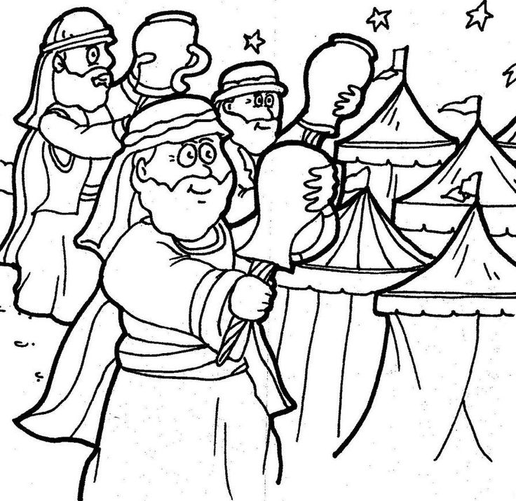 gideon coloring pages gideon coloring page free coloring home coloring gideon pages