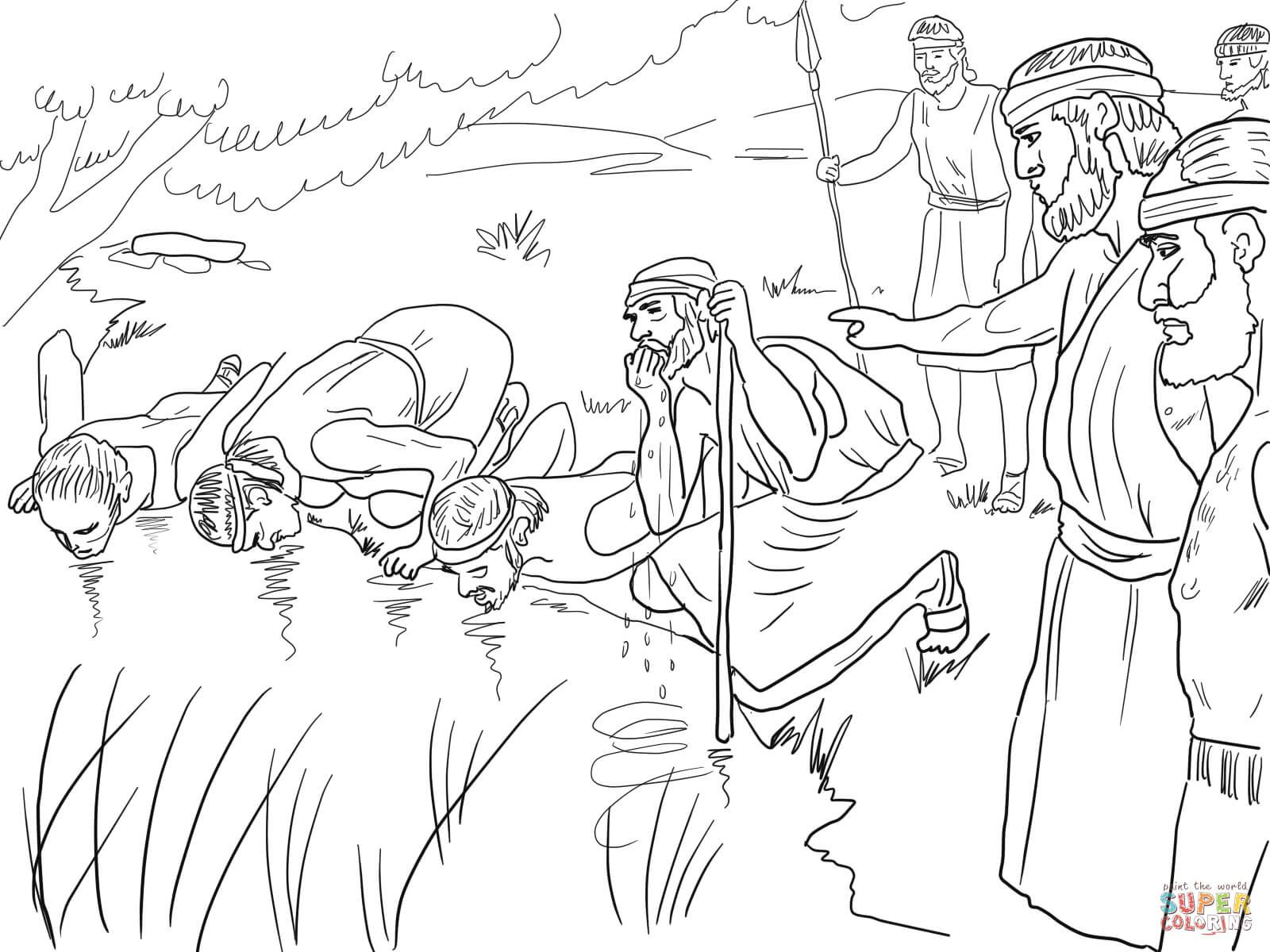 gideon coloring pages gideon coloring page free coloring home sunday school pages coloring gideon