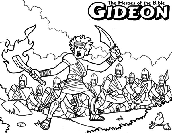 gideon coloring pages gideon coloring page judges gideon for kids pinterest pages gideon coloring