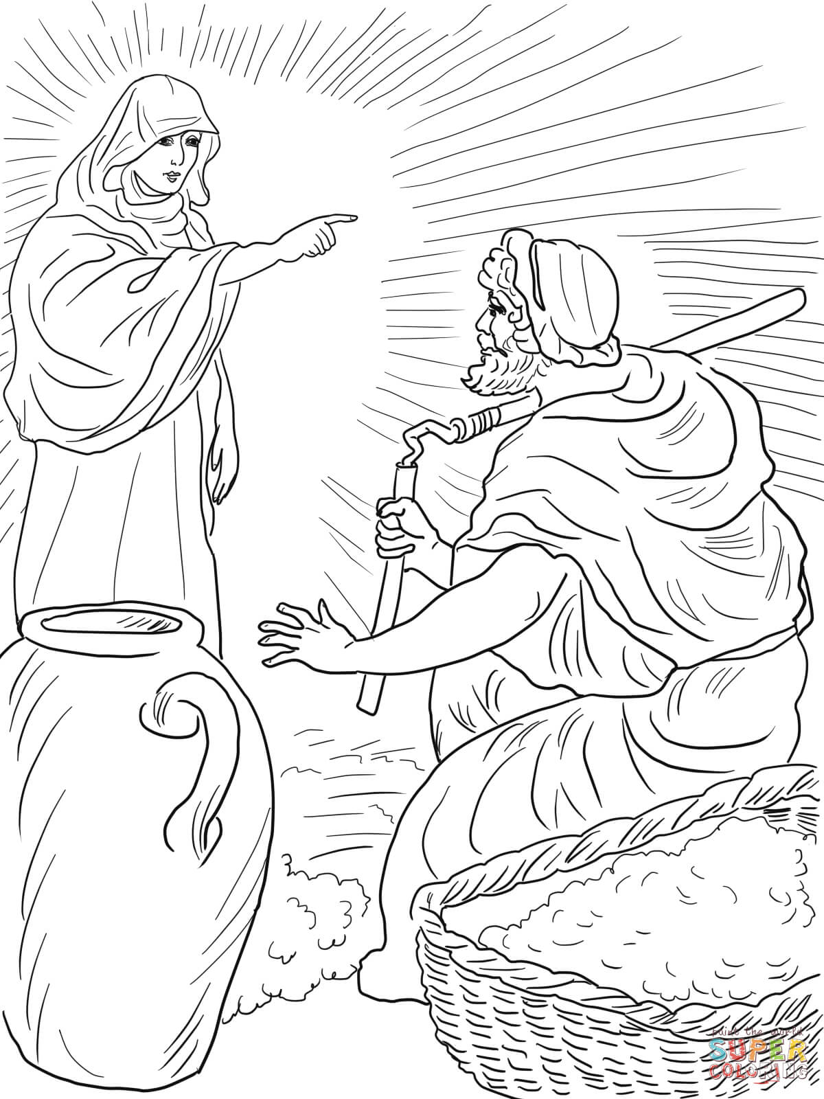 gideon coloring pages gideon coloring pages for the kids educative printable coloring pages gideon
