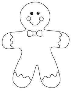 gingerbread girl template printable coloring pages gingerbread girl at getcoloringscom free girl template gingerbread printable
