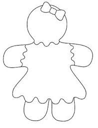 gingerbread girl template printable printable full page gingerbread man pattern use the printable gingerbread template girl