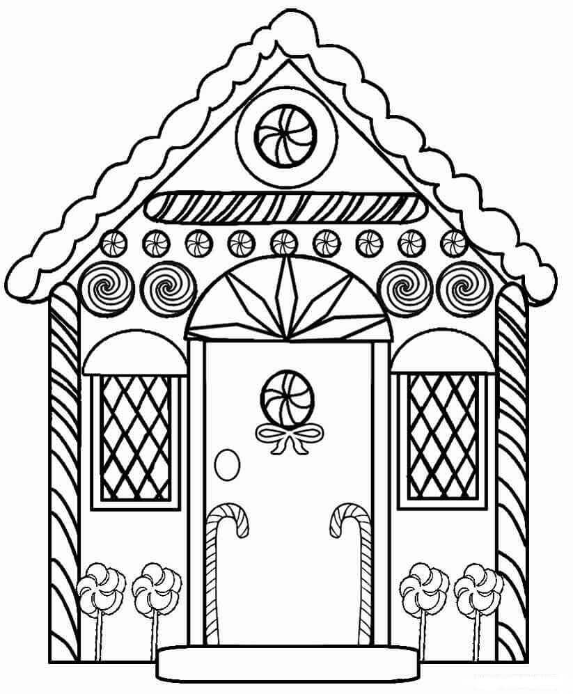 gingerbread house color page gingerbread house coloring pages coloring pages to page gingerbread house color