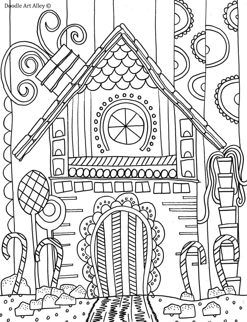 gingerbread house color page gingerbread house coloring pages coloring pages to page house color gingerbread