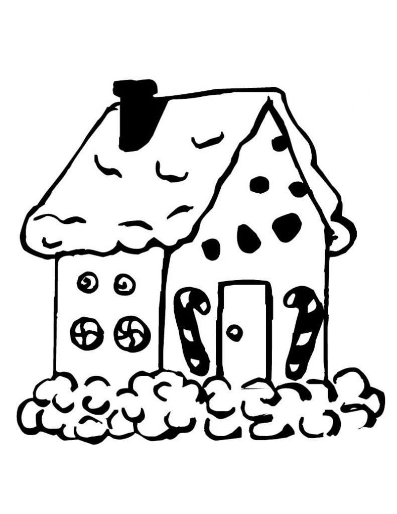 gingerbread house color page gingerbread house coloring pages to download and print for color gingerbread house page