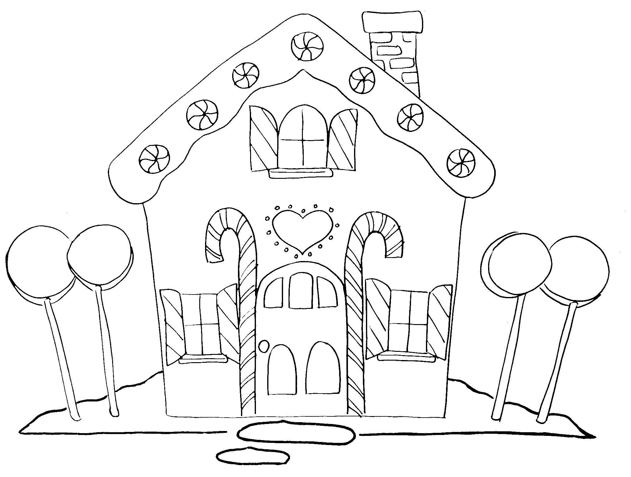 gingerbread house color page gingerbread house coloring pages to download and print for house gingerbread page color