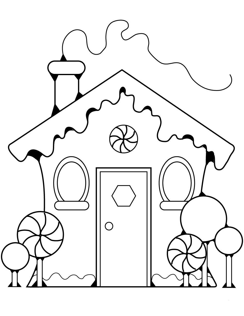gingerbread house color page printable gingerbread house coloring pages coloring home page gingerbread house color