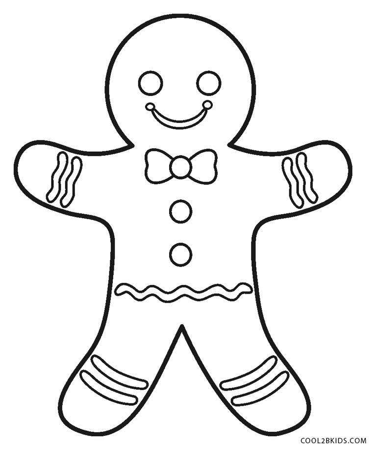 gingerbread man for coloring free printable gingerbread man coloring pages for kids coloring man for gingerbread