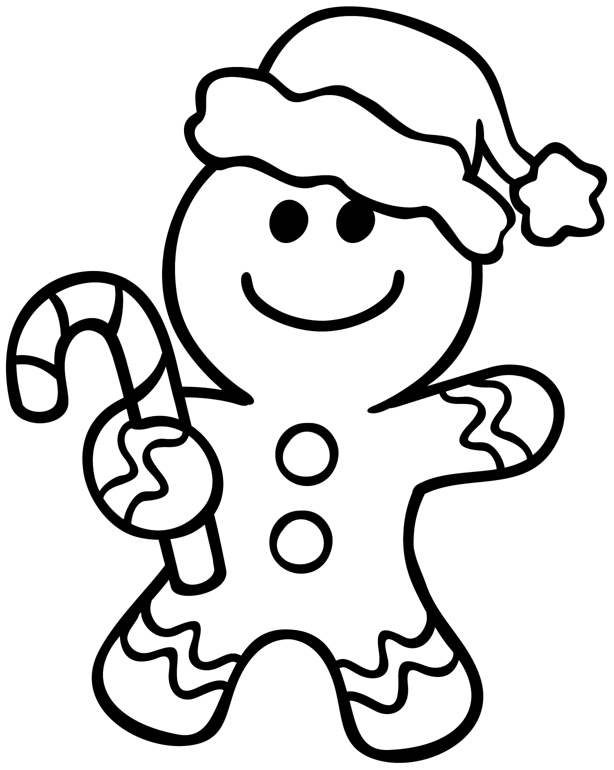 gingerbread man for coloring free printable gingerbread man coloring pages for kids gingerbread coloring for man