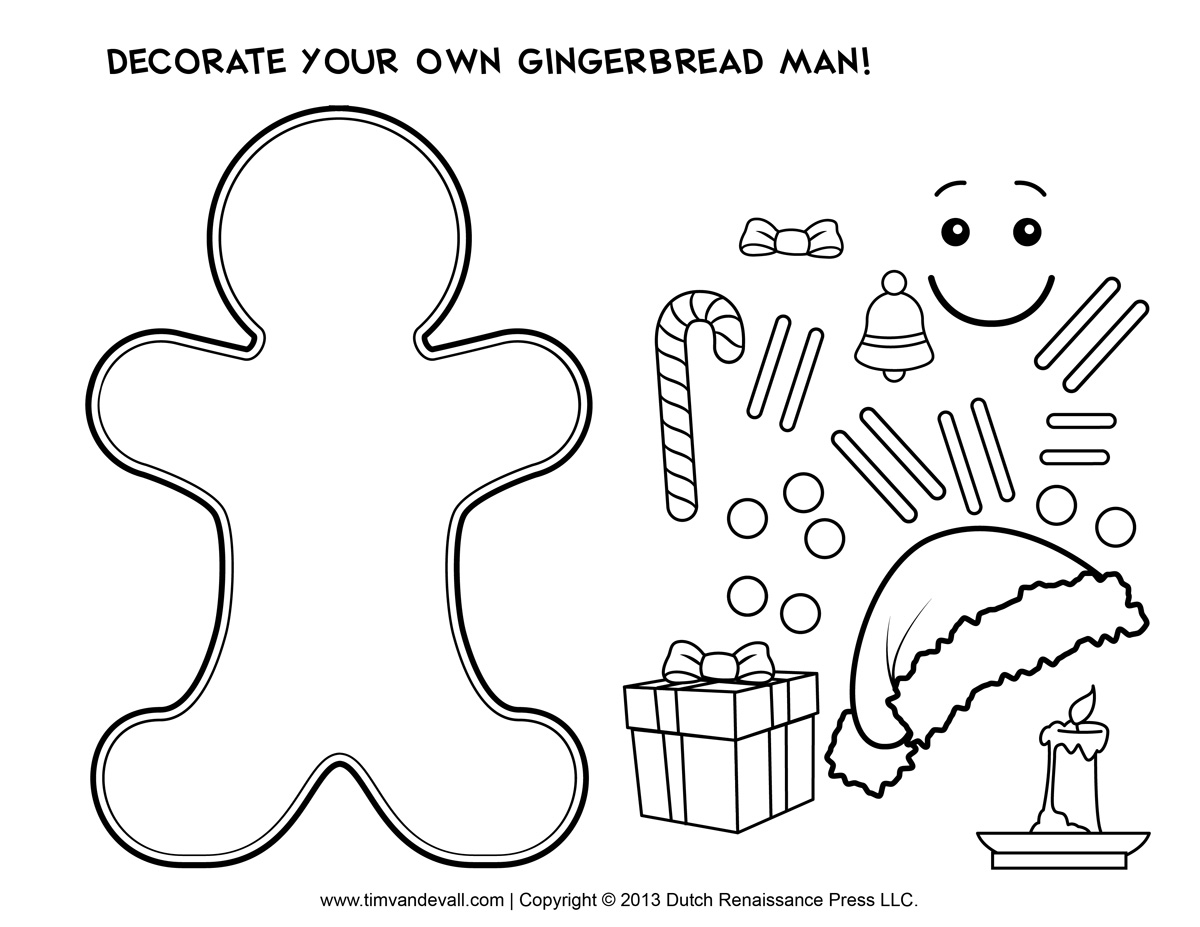 gingerbread man for coloring gingerbread man coloring page free download on clipartmag for man coloring gingerbread