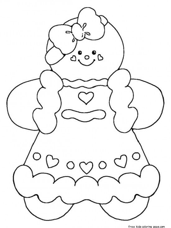 gingerbread man for coloring printable gingerbread man coloring pages at getcolorings gingerbread man coloring for