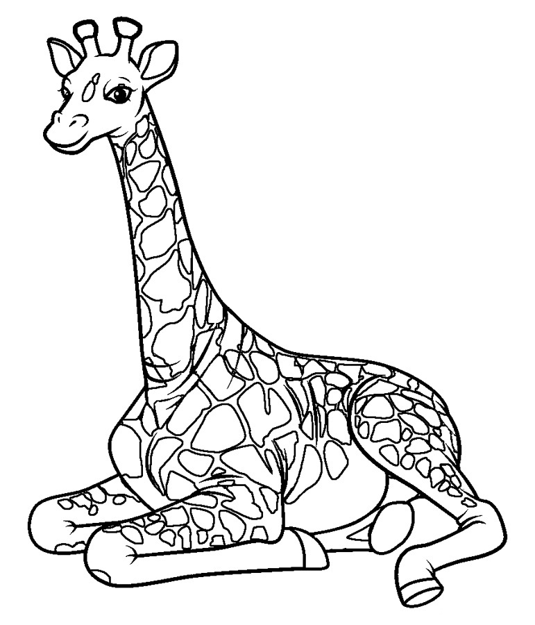 giraffe coloring image jungle coloring pages best coloring pages for kids coloring giraffe image