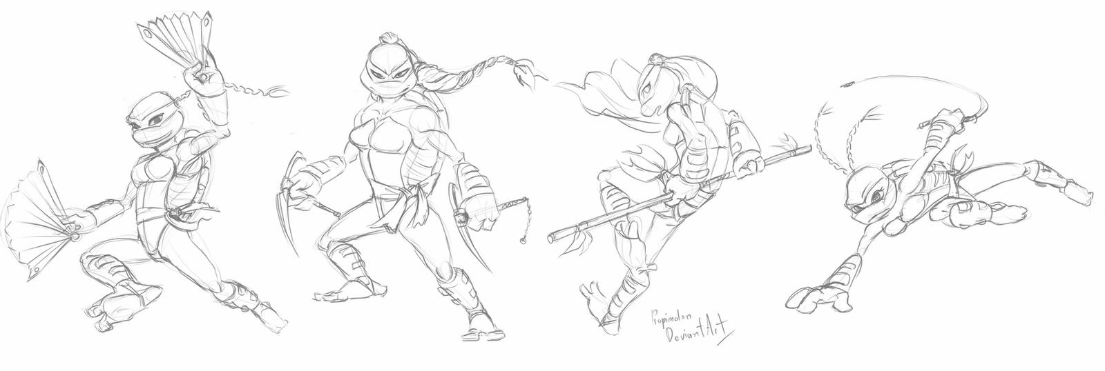 girl ninja turtle coloring page two raphaels by sf fundeviantartcom on deviantart page girl coloring turtle ninja