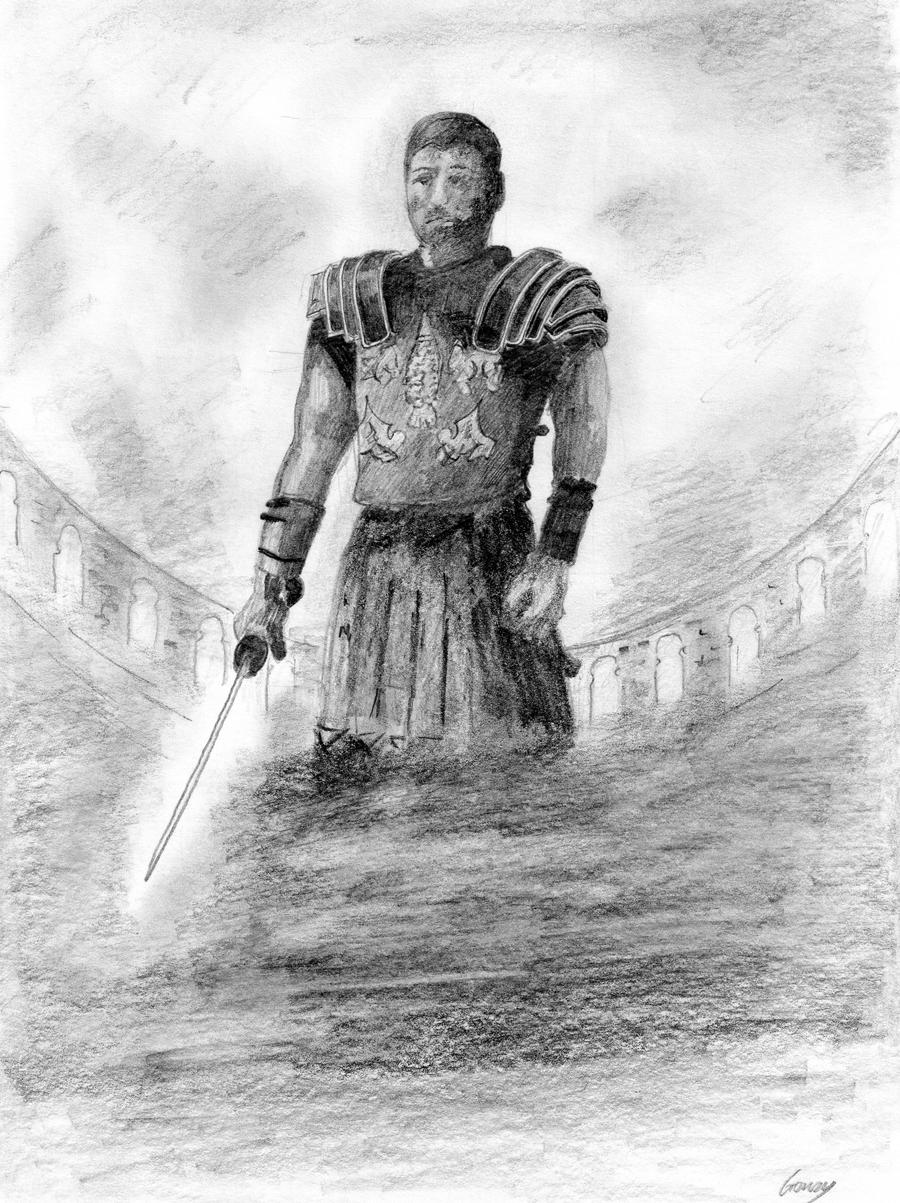 gladiator drawing gladiator russell crowe by g17rdy on deviantart drawing gladiator