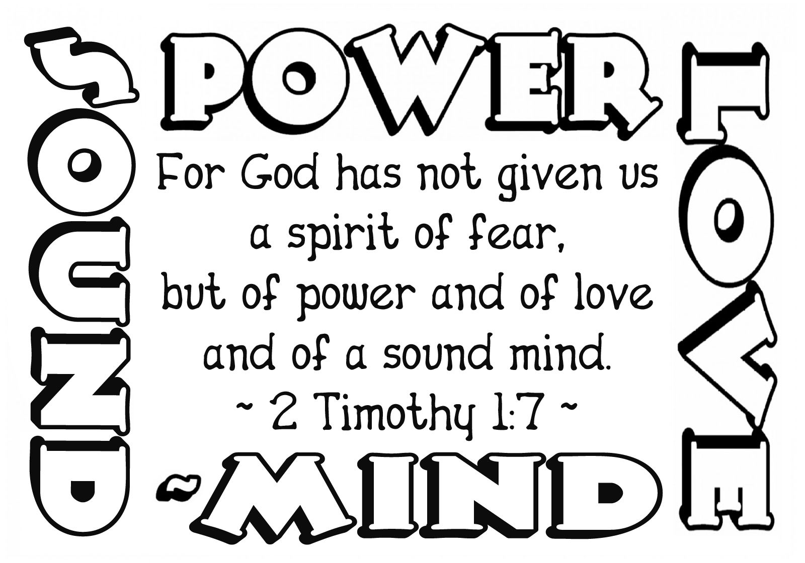 gods power coloring page children39s gems in my treasure box sowing the word coloring page gods power