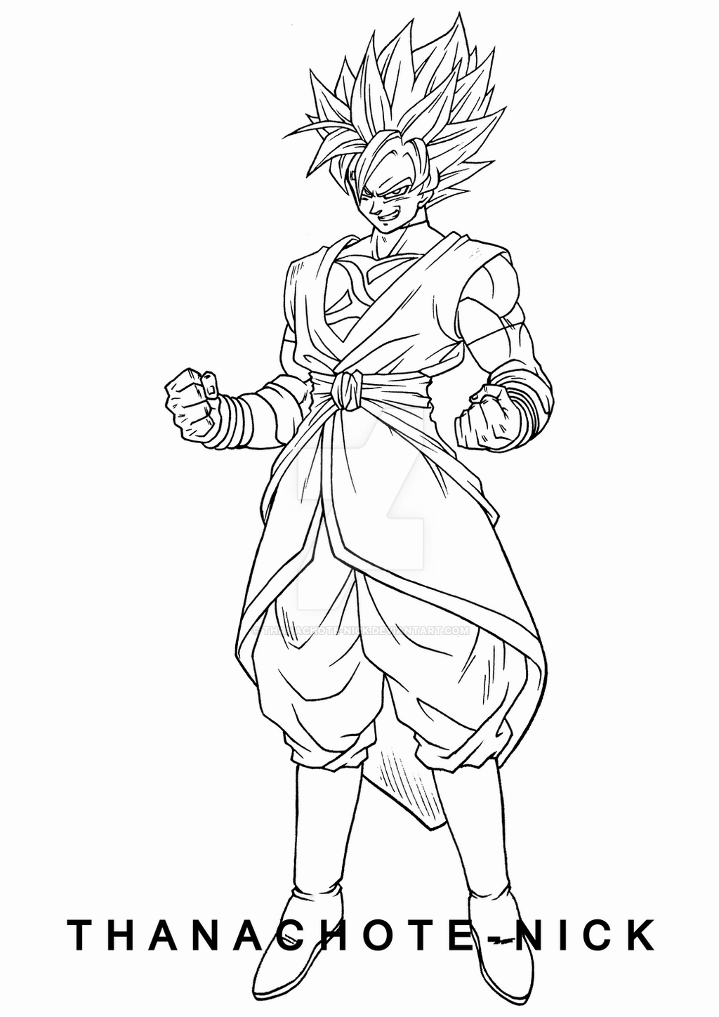 goku black coloring pages goku xeno ssj3 sdbh lineart by lucario strike on deviantart black pages goku coloring
