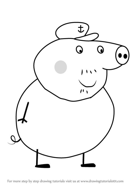 grandma pig coloring pages pinterest the worlds catalog of ideas coloring pig pages grandma