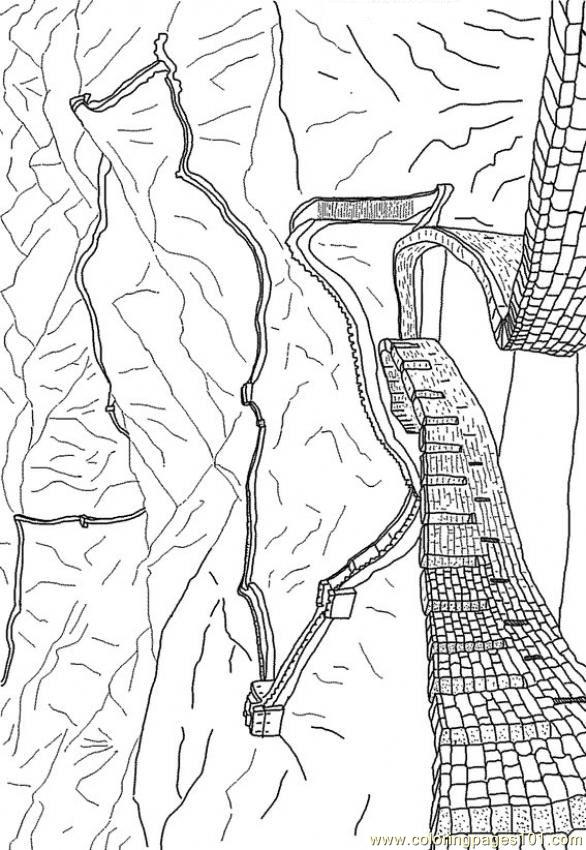 great wall of china coloring sheet free coloring pages printable pictures to color kids of coloring great sheet china wall