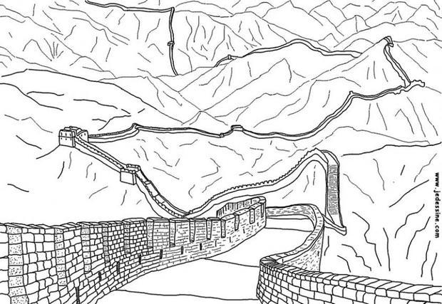 great wall of china coloring sheet the great wall of china coloring page coloringcrewcom wall coloring sheet great china of