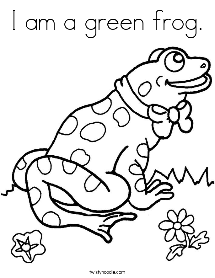 green tree frog coloring page green frog coloring page green frog tree coloring page