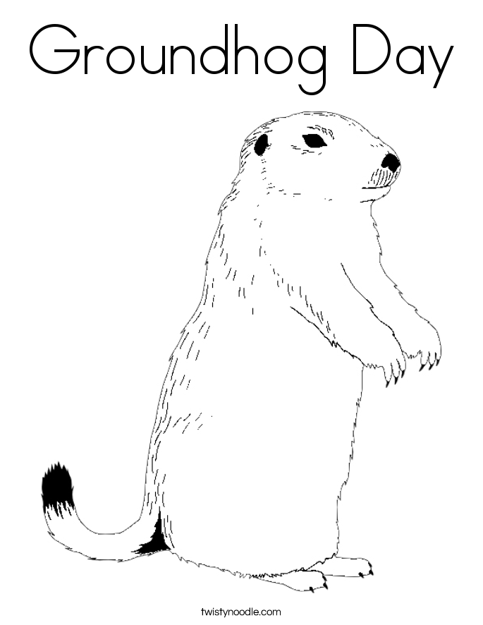 groundhog pictures to color groundhog coloring pages best coloring pages for kids color pictures to groundhog